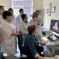 Врач-эксперт ультразвуковой диагностики МОНИИАГ провела мастер-класс для врачей перинатального центра Тамбова